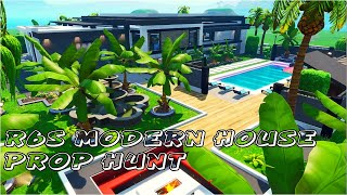 Rainbow 6 Siege Modern House | Prop Hunt Map w/ Code (Fortnite Battle Royale)