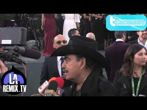 Entrevista a Joan Sebastian Carpeta Verde de los Latin Grammy 2012