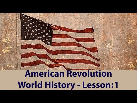 World History Crash Course : American Revolution | IB ACIO / UPSC