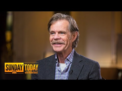 William H. Macy On 'Shameless,' 'Fargo,' Marriage To Felicity Huffman | Sunday TODAY