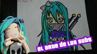 THE ART OF CLAU SUBS AND EDU GAMEPLAYS ROBLOX DIBUJOS