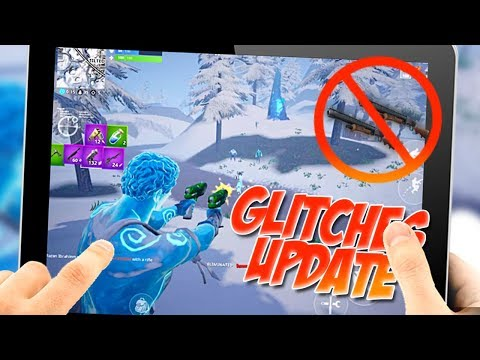 Fornite Mobile Ice Storm Update - DOUBLE PUMP GLITCH FIXED - GHOST SHOOTING EXPLAINED