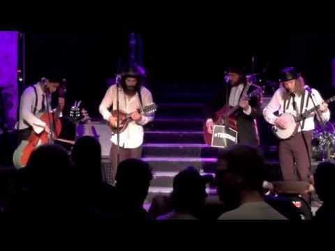 The Dead South - Wagon Wheel (Bob Dylan cover) - live Milla-Club Munich 2014-09-15