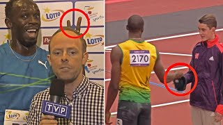 Usain Bolt Being Awesome For 5 Minutes Straight