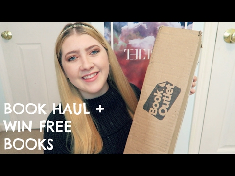 Book Outlet Unboxing + HOW TO WIN FREE BOOKS