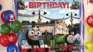 Video Thomas & Friends Birthday Party Ideas from Party City download MP3, 3GP, MP4, WEBM, AVI, FLV Agustus 2018