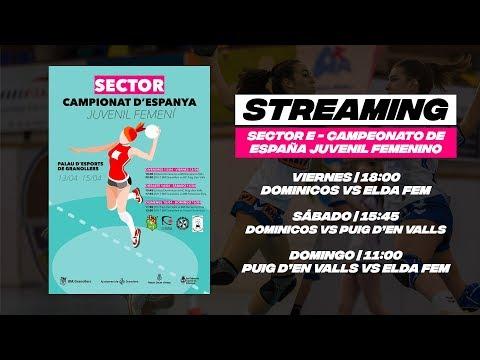 KH7 BM Granollers vs BM Femenino Elda | Sectors Camp. D'Espanya Juvenil Femení 2018