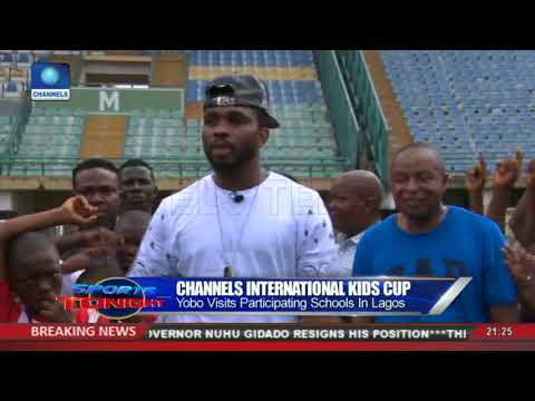 I Started Like This But Never Had A Platform, Yobo Commends Channels Int'l Kids Cup Initiative