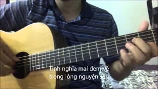 TINH XUA NGHIA CU - Jimmy Nguyen [Guitar solo] [K'K]