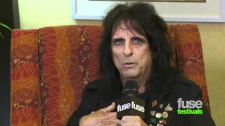 Alice Cooper Loves Iron Maiden Fans  - Bonnaroo 2012