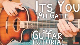 It's You Ali Gatie Guitar Tutorial // It's You Guitar // Guitar Lesson #699