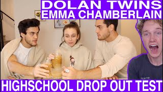 HIGHSCHOOL DROPOUTS TAKE FINALS ft Dolan Twins [Reaction] Tyler Wibstad