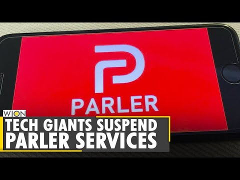 Google, Apple, Amazon suspend Parler from App Store and web hosting service | World News | WION News