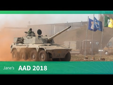 AAD 2018: Rooikat Mobility Demonstration