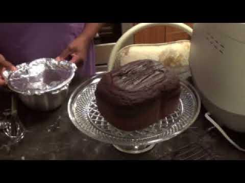 Making Chocolate Cake With Bread Machine