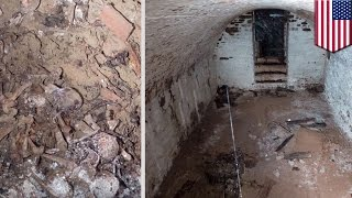 米ニューヨークの公園で、地下から12体以上の人骨が発見された。共同墓...