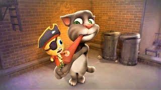 Говорящий кот Том | игра говорящий кот том | интересные блюда | интересные моменты  P4