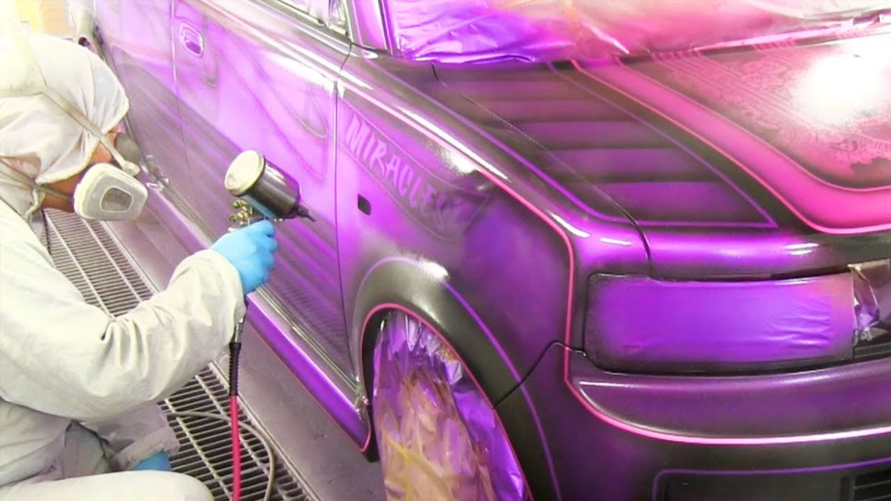 Custom Car Paint >> How To Custom Candy Paint And Full Graphics On Car カスタムペイント