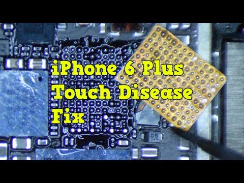 iPhone 6 Plus Touch Disease  Fix | Meson Reball After Factory Solder Fails