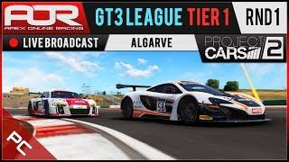 Project CARS 2 | AOR GT3 League | PC Tier 1 | S11 | R1: Algarve
