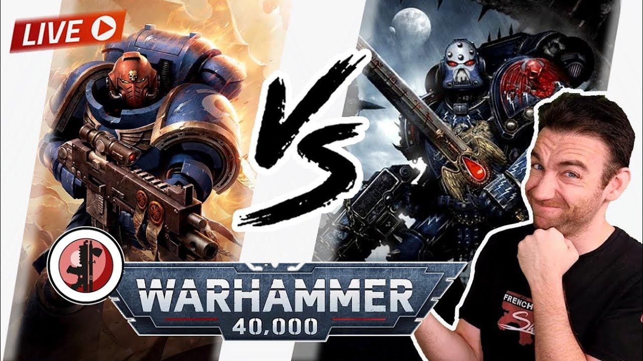 Warhammer 40.000 V9 - NightLords VS UltraMarines ! La revonche