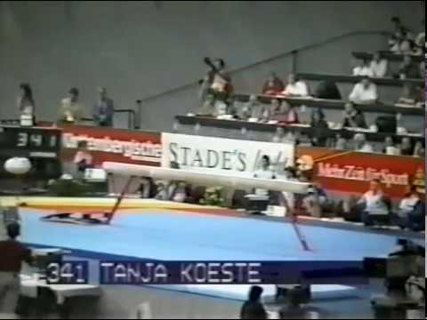 1989 World Gymnastics Championships - Women's Team Optionals, East Germany (SI HV)