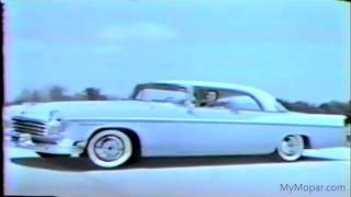 1956 Chrysler Full Line Up Dealer Promo Film