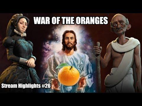 WAR OF THE ORANGES (Civilization VI)   Fever Reaver Stream Highlights Episode #26