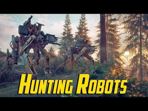 Generation Zero  Hunting Robots