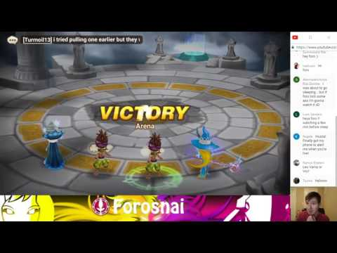 Summoners War Real Time Arena Strategy + Showing Strat in Action