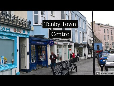 Travel Guide Tenby Town Centre Pembrokeshire South Wales UK Pros And Cons Review