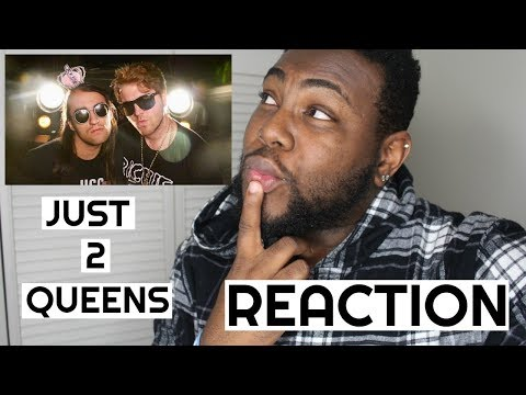 JUST 2 QUEENS by Drew Monson ft  Shane Dawson | REACTION