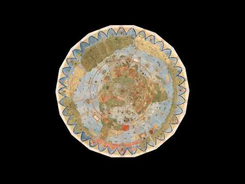 Largest Early World Map - Monte's 10 ft. Planisphere of 1587