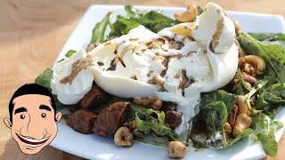 Burrata Salad | Burrata Cheese Figs And Nuts Salad @ Coogee Beach