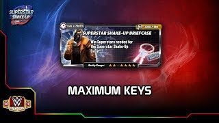 40x KeyChain Pulls - Superstar Shakeup - WWE Champions-