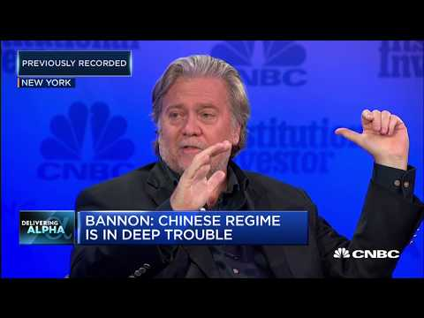 Bannon: We\'re at an economic war with China | Squawk Box Europe