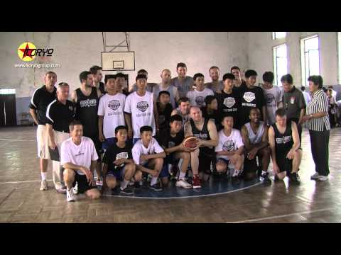 North Korean-American Basketball Exchange, Pyongyang