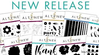 Close-Up look : Altenew april 2018 release