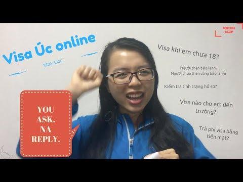 Visa Úc Online E600: Hỏi Đáp Q&A