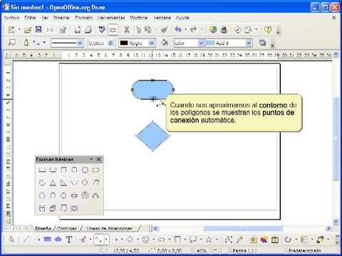 how to add text in openoffice draw
