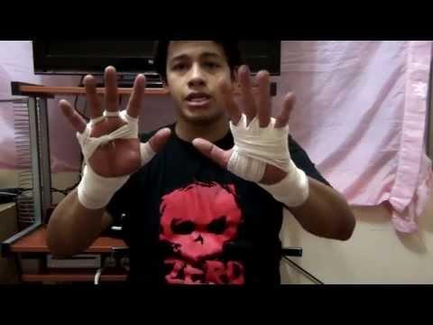 Como vendarse las manos para pelear o entrenar / Dos tipos de vendaje para combate