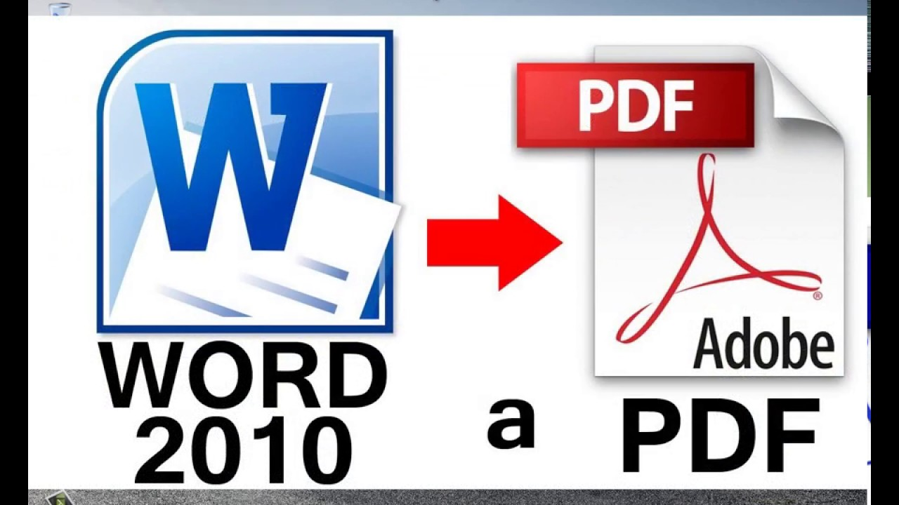como convertir un documento word a pdf 2017    muy facil y