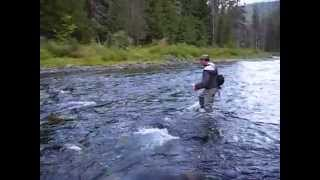 Fly Fishing N. Idaho - Beautiful Westslope Cutthroat Trout - Sept 2010