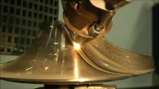 TRUMPF Additive Fertigung: Laserauftragschweißen mit der TruLaser Cell 3000