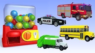 Learning Street Vehicles Names and Sounds for kids  | Tomica Cars Trucks And Toys