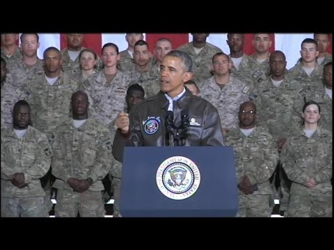 President Obama Makes Surprise Visit to Afghanistan