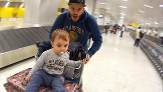 Viajando de Avião pela Primeira Vez para o Brasil Viagem de Méida [Daily Vlog]