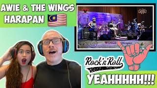 WINGS - HARAPAN   REACTION! ROCK AND ROLL 🇲🇾 🤟