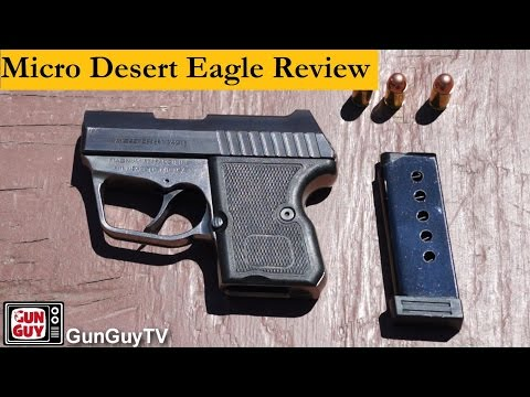 Is the Micro Desert Eagle .380 a Good Gun For Concealed Carry?
