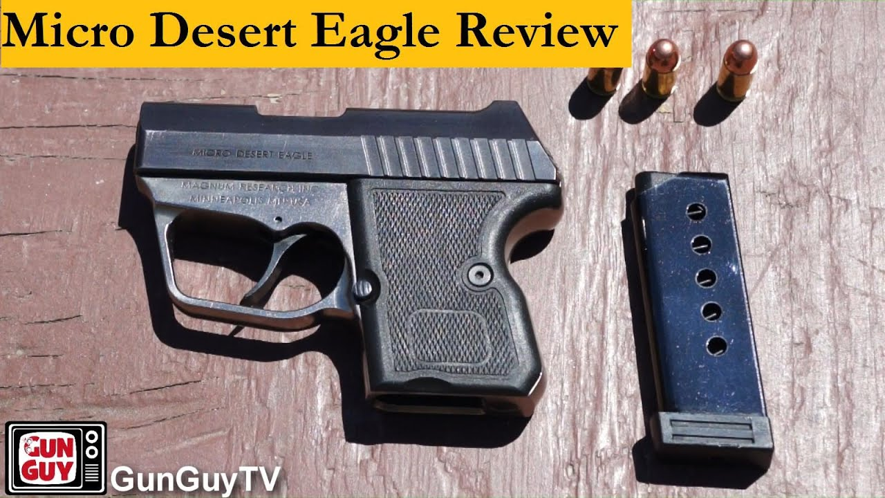 Is the Micro Desert Eagle .380 a Good Gun For Concealed ...